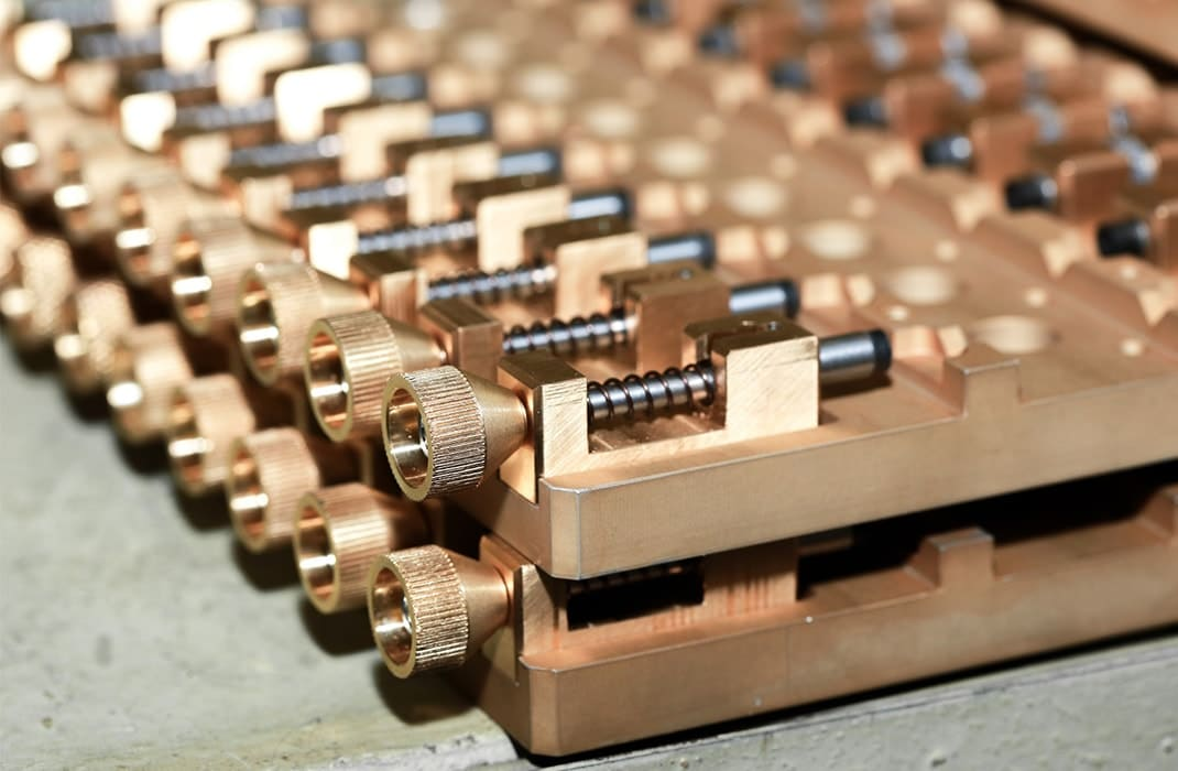 Пример изготовления составных деталей из металла